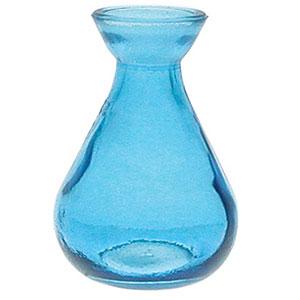 Aqua Blue 5.1 oz. Teardrop Reed Diffuser Vase