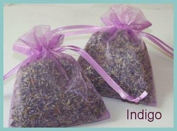 Lavender Organza Sachet Set