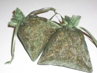 Peppermint Organza Sachet Set
